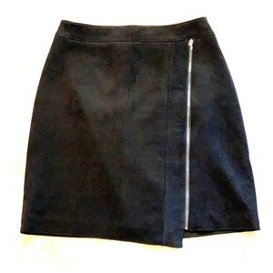 WHBM Faux Suede Skirt